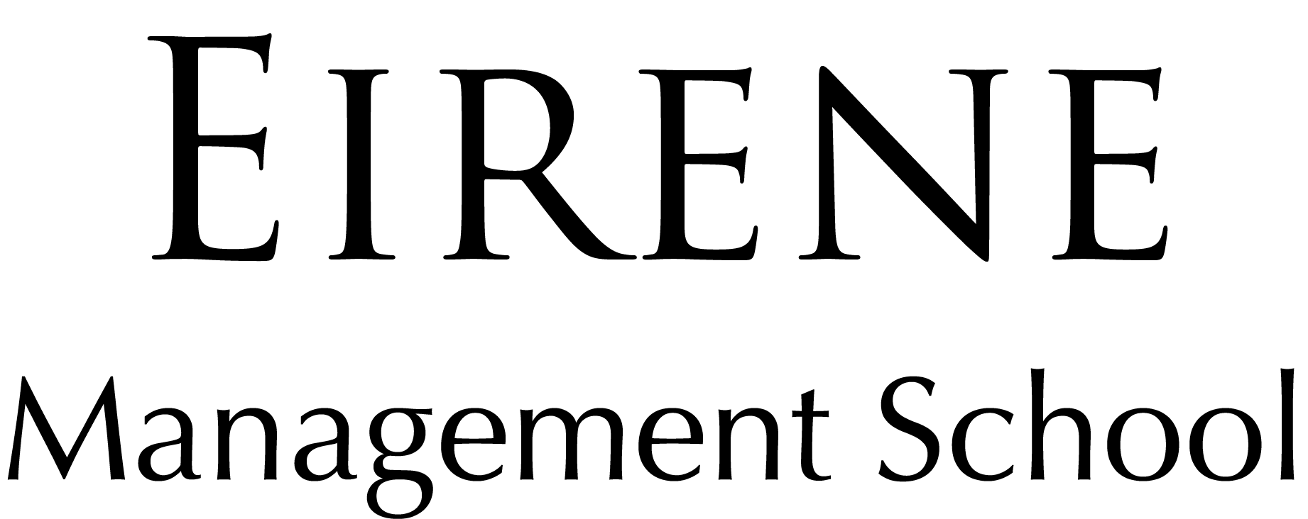 Wordmark_Eirene Management School